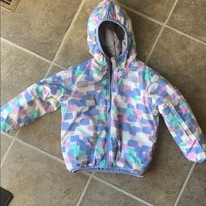 The North Face winter coat girls size 4